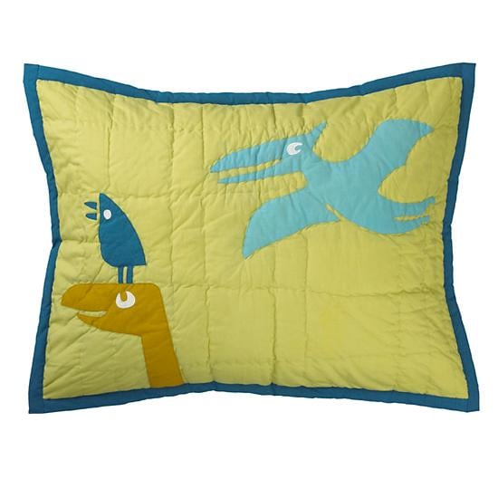 The Land of Nod Dinosaur Sham ($29)