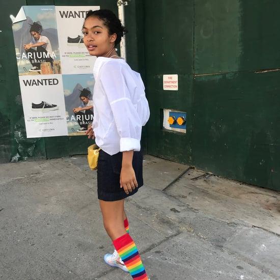 Yara Shahidi's Off-White x Converse Sneakers