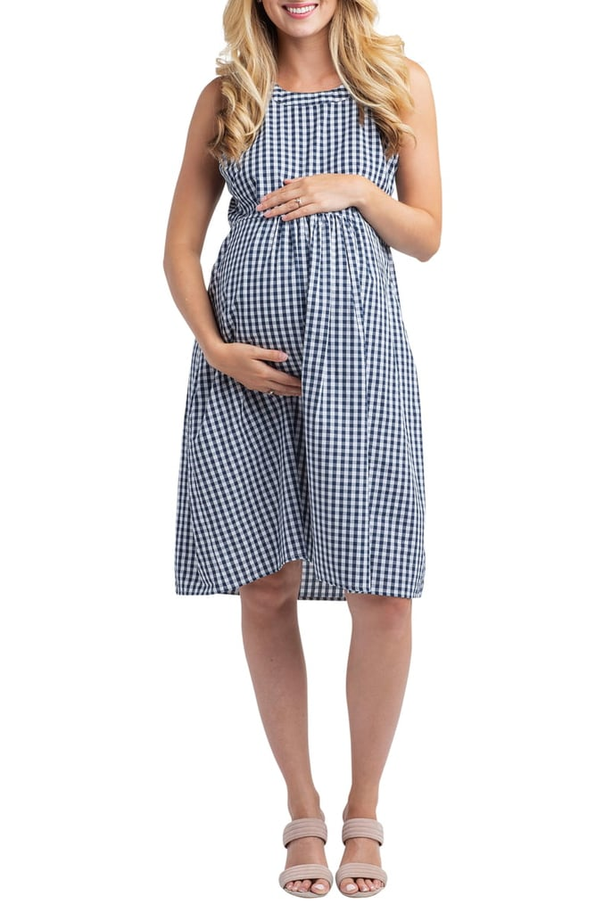 f4c9c3b28 Nom Maternity Molly Gingham Maternity Dress | Best Maternity Dresses ...