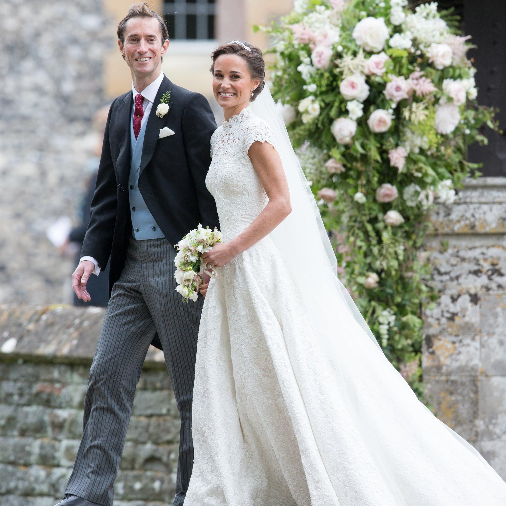 Pippa Middleton S Wedding Flowers Popsugar Home