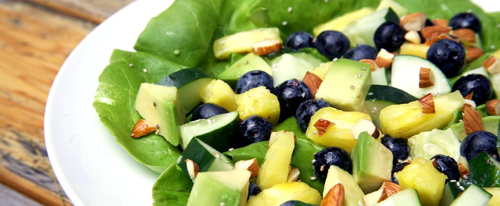 A Sweet and Tropical Flat-Belly Salad