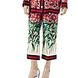 Gucci Poppy Garden-Print Pajama Pant