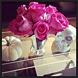 A simple yet elegant Halloween display is always glam.