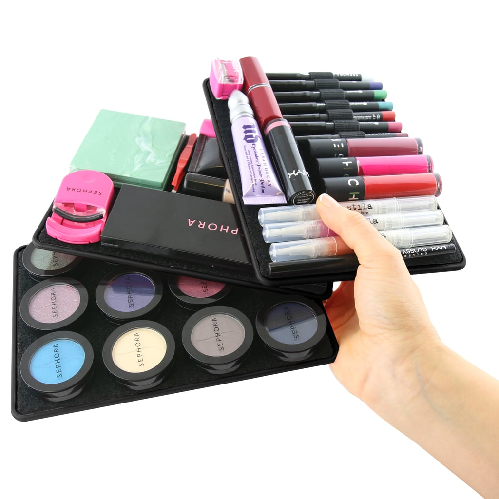 """Size of beauty collection: """"I've been a beauty addict and blogger since 2007, so over the years I've gathered a lot of product! I probably have over 300 beauty items, ranging from shampoo to skin care."""""""