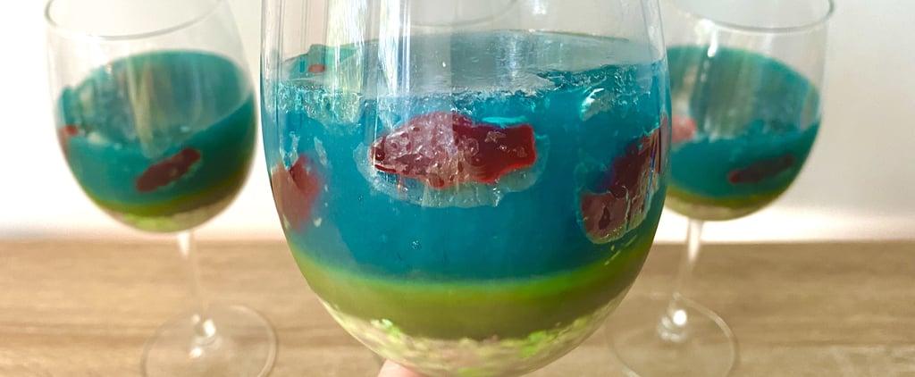 Boozy Aquarium Cups Recipe With Photos