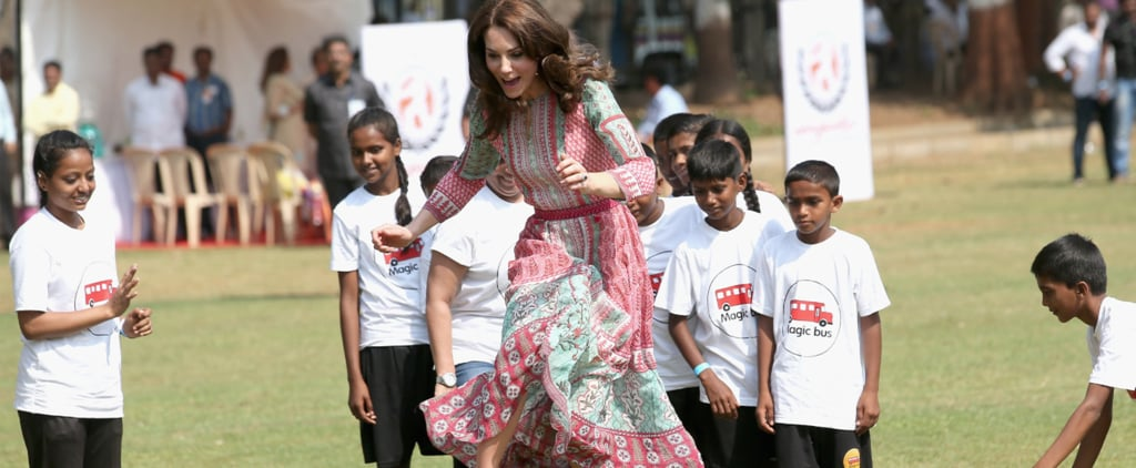 13 Times The Duchess of Cambridge Made Running in Heels Look Like a Piece of Cake