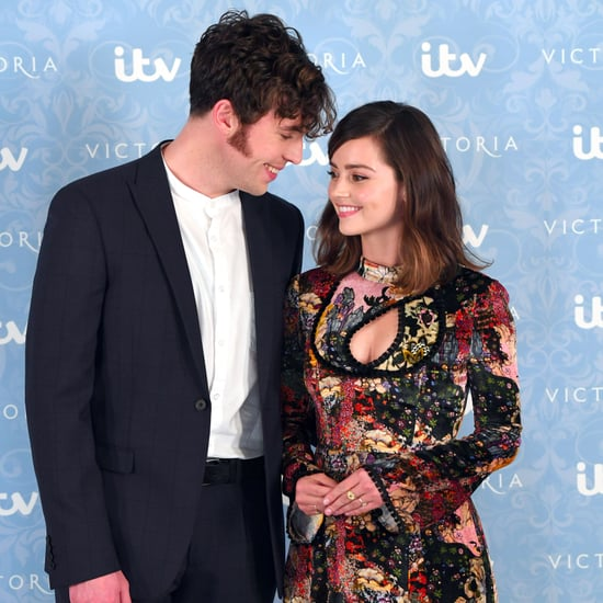 Jenna Coleman and Tom Hughes Photos August 2017