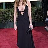 Jennifer at the Golden Globe Awards in 2004