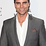 Colin Egglesfield wore a simple suit to the Elle Women in TV event.