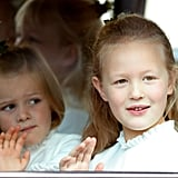 Mia Tindall and Savannah Phillips