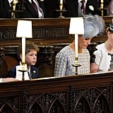 Lady Louise at Prince Harry's Wedding