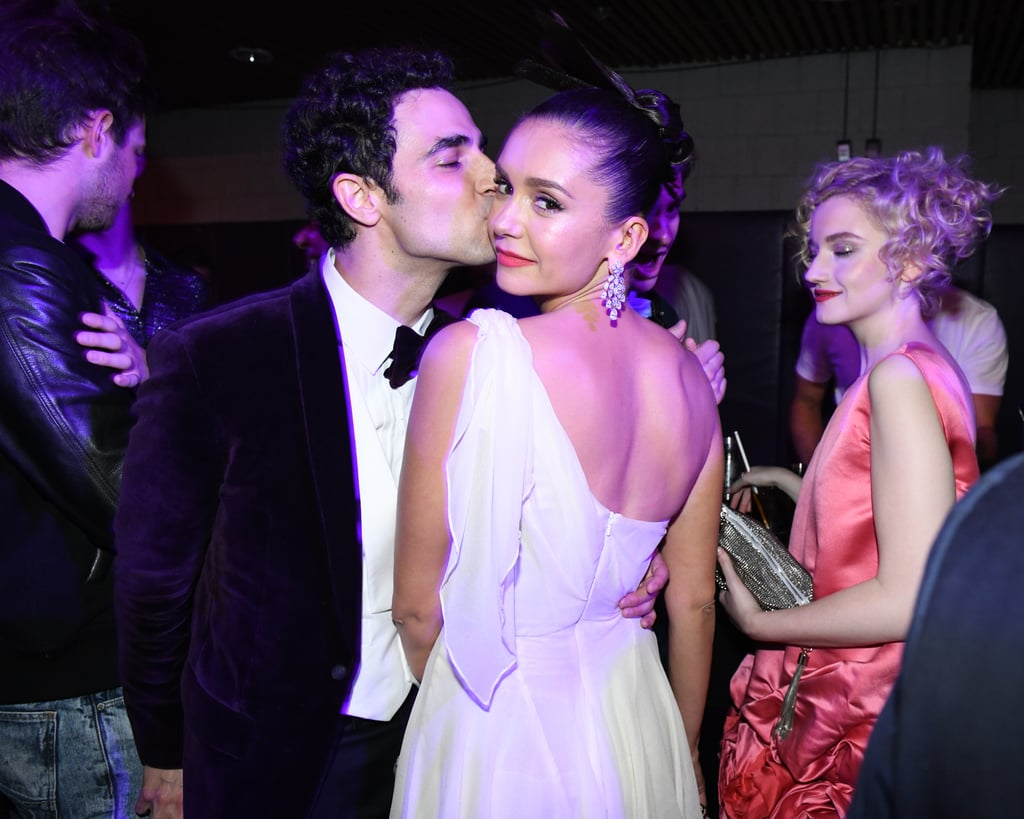 Zac Posen and Nina Dobrev
