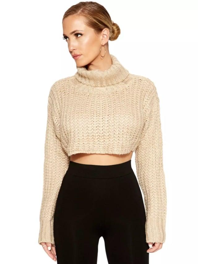 Naked Wardrobe Crop Sweater