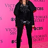 Donna Karan came out for the 2011 Victoria's Secret Fashion Show.