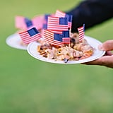American Flag Garnishes