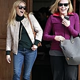 Reese Witherspoon and Chelsea Handler Get Goofy After an LA Lunch Date