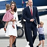 Kate Middleton Touched Down in Poland With Her Family