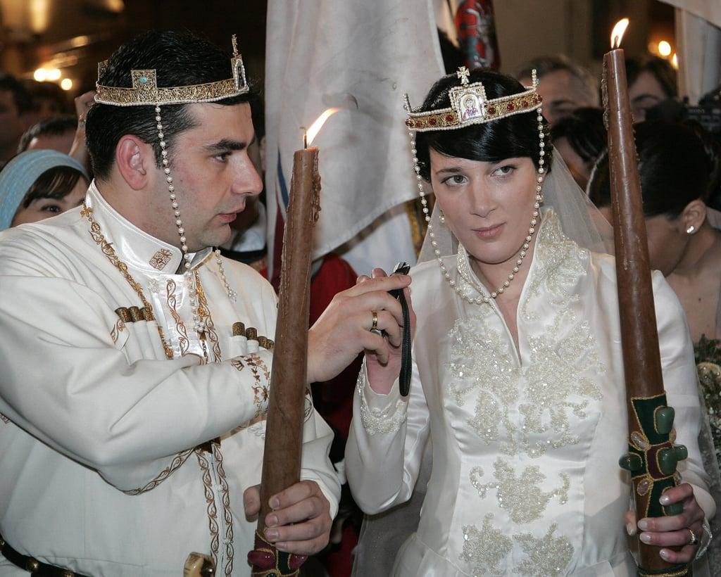 David Bagration and Princess Anna Bagration-Gruzinsky