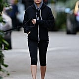 Nicole Richie showed off her fit figure in LA.
