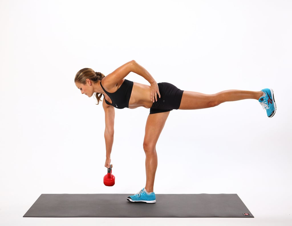 One-Legged Kettlebell Deadlift