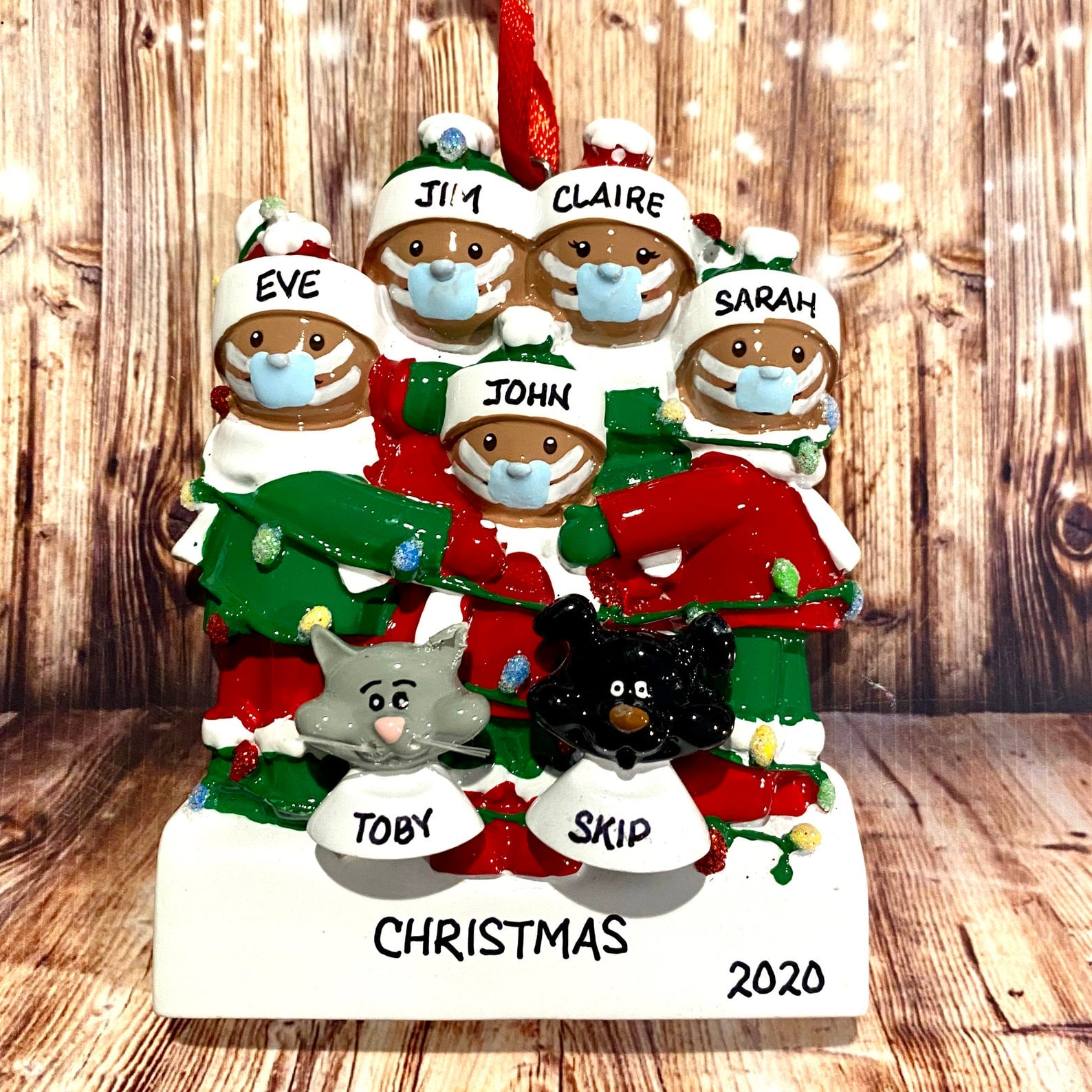shop pandemic themed 2020 christmas ornaments for families popsugar family shop pandemic themed 2020 christmas