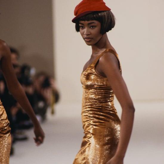 Naomi Campbell Runway Photos