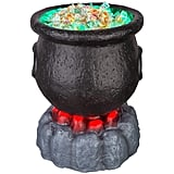 Halloween Lit Cauldron Candy Bowl