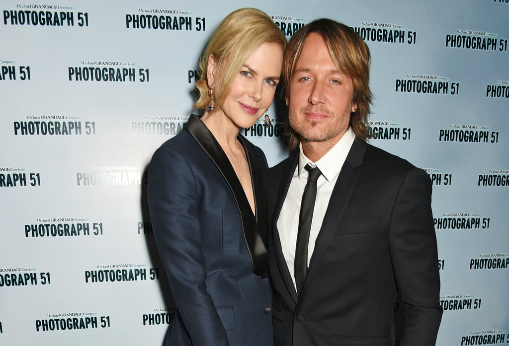 The two attended a Photograph 51 press night in London in September 2015.