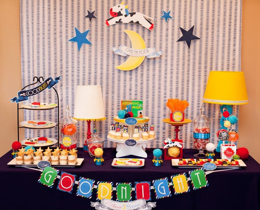 Goodnight Moon Dessert Table