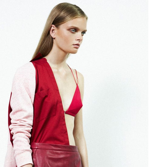 Dion Lee Line II AW 2013 Look Book: Leather, Shirts, Dresses