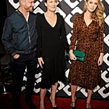 Robin Wright was joined by her boyfriend, Ben Foster, and daughter, Dylan Penn.