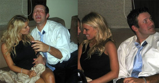 Jessica Simpson And Tony Romo At Bobby Carpenter's Wedding