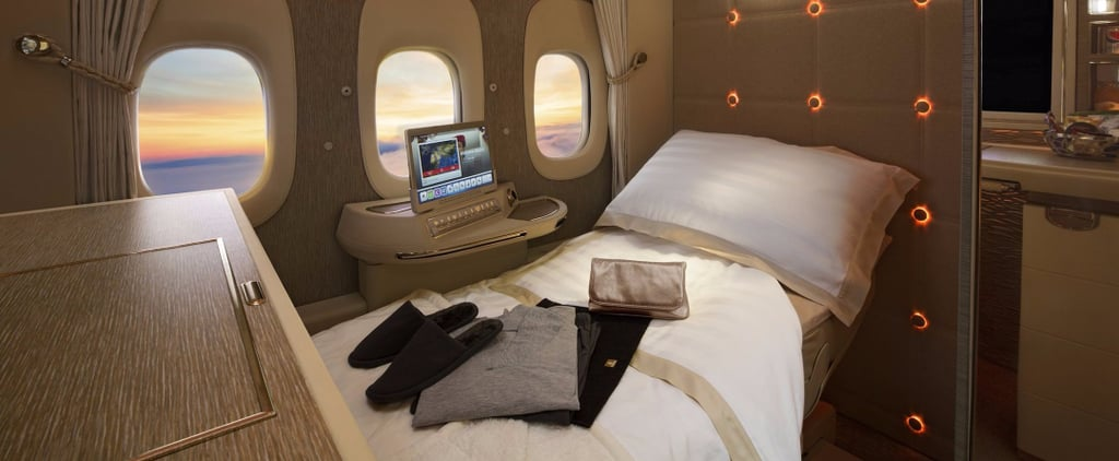 See Sheikh Mo Tour Emirates' New First Class Cabin