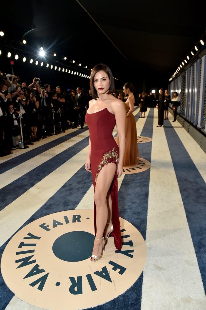 Jenna Dewan Tatum Vanity Fair Oscars Party Dress 2018