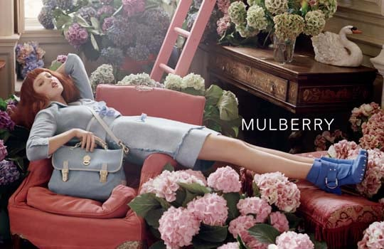 Lindsey Wixsonfor Mulberry, by Tim Walker