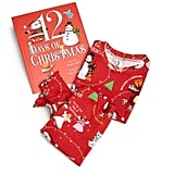 "Books To Bed Toddler's & Little Girl's Three-Piece ""12 Days of Christmas"" Pajamas & Book Set"