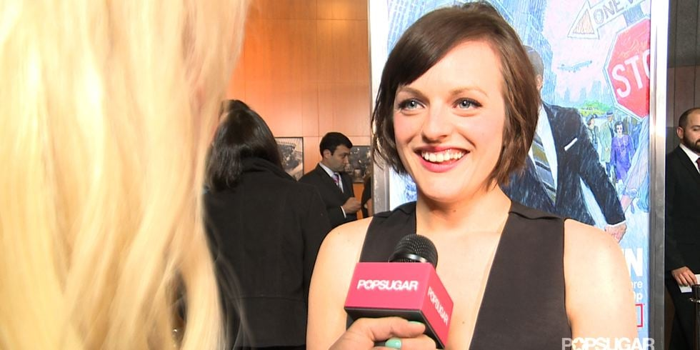 Elisabeth Moss Interview at Mad Men's 2013 Premiere (Video)