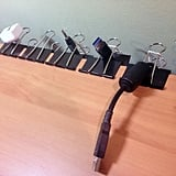 Use Clips to Organise Your Wires