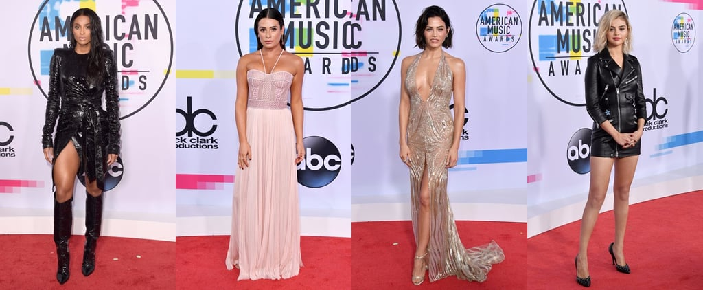 American Music Awards Red Carpet Dresses 2017