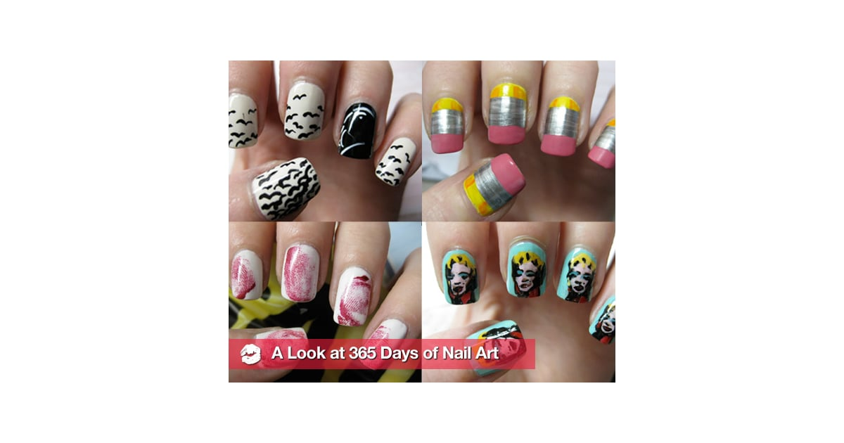 Blogger Creates New Nail Art Design Each Day For a Year | POPSUGAR ...
