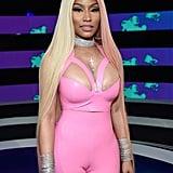 Nicki Minaj Long Pink and Blonde Hair 2017 MTV VMAs