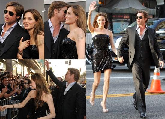 Angelina Jolie, Brad Pitt, Liev Schreiber, Naomi Watts and More at Salt LA Premiere