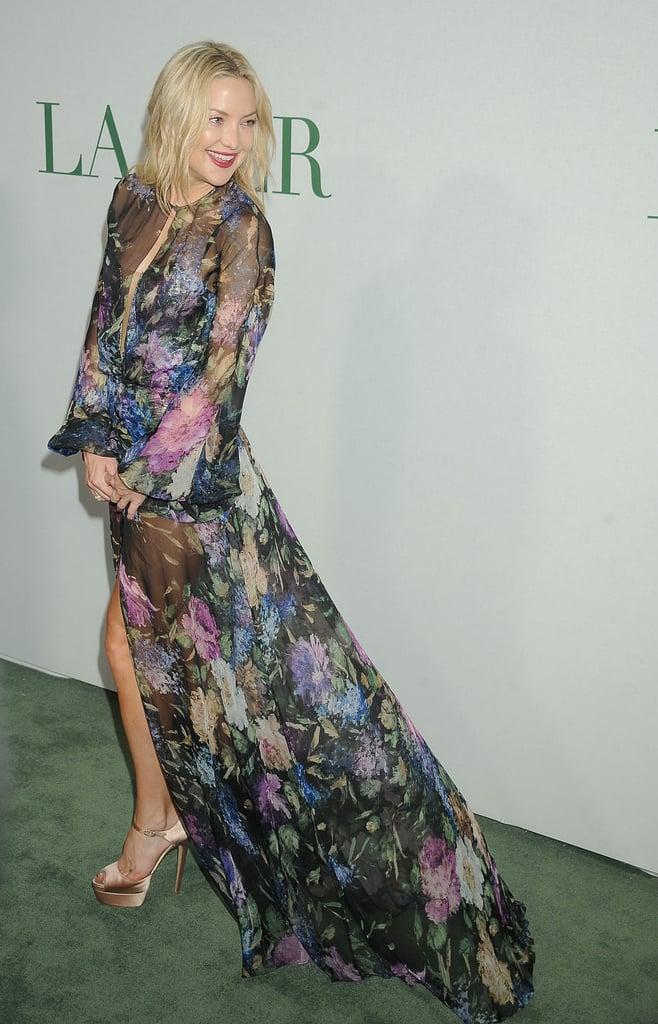 Kate Hudson Dress at La Mer Event