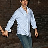 Tom Cruise stepped out in Baton Rouge, LA, for a night on the town in April 2012.