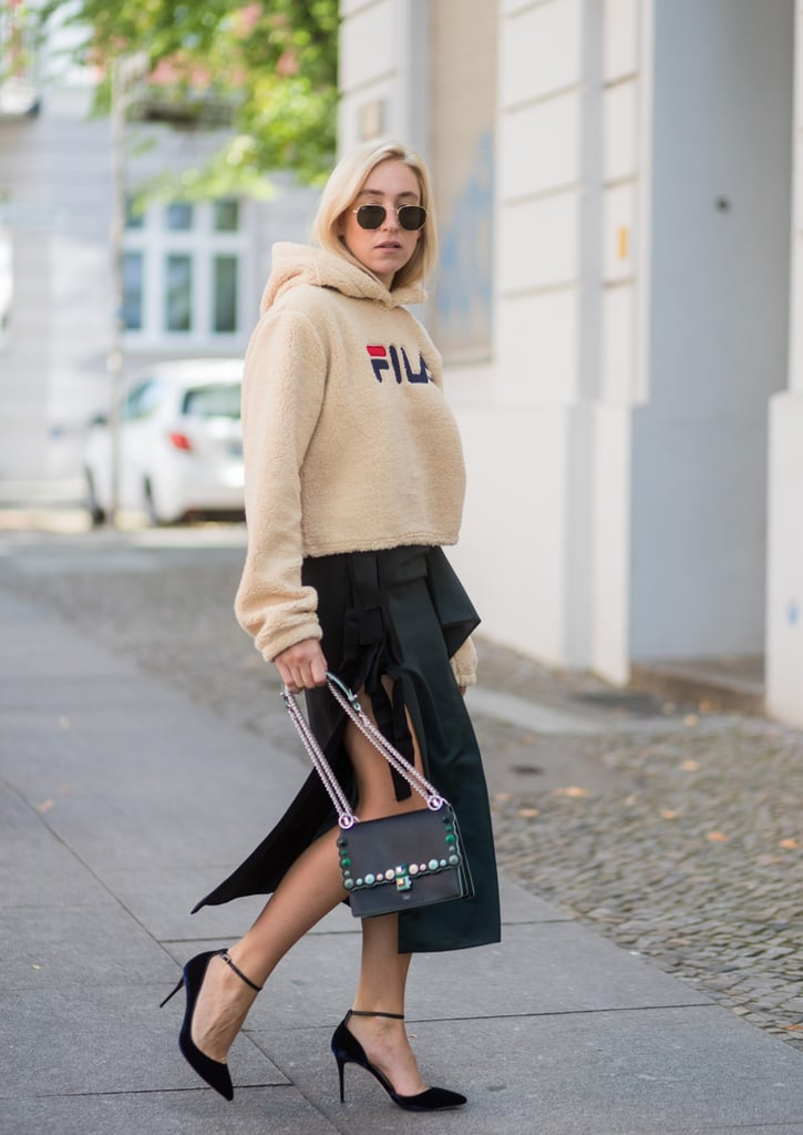 Pair Fuzzy Loungewear With Your Heels
