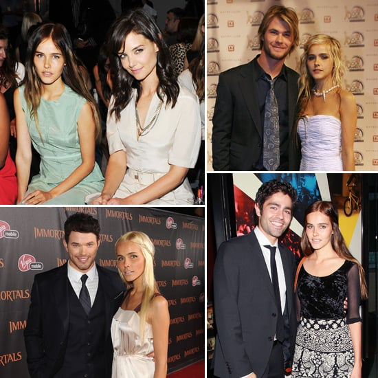 Isabel Lucas Pictures With Hollywood Stars Like Adrian Grenier, Kellan Lutz, Katie Holmes