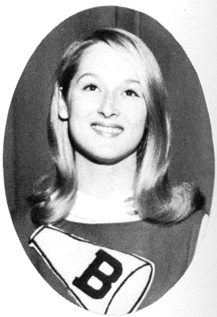 Meryl posed in her cheer uniform. Source: Seth Poppel/Yearbook Library