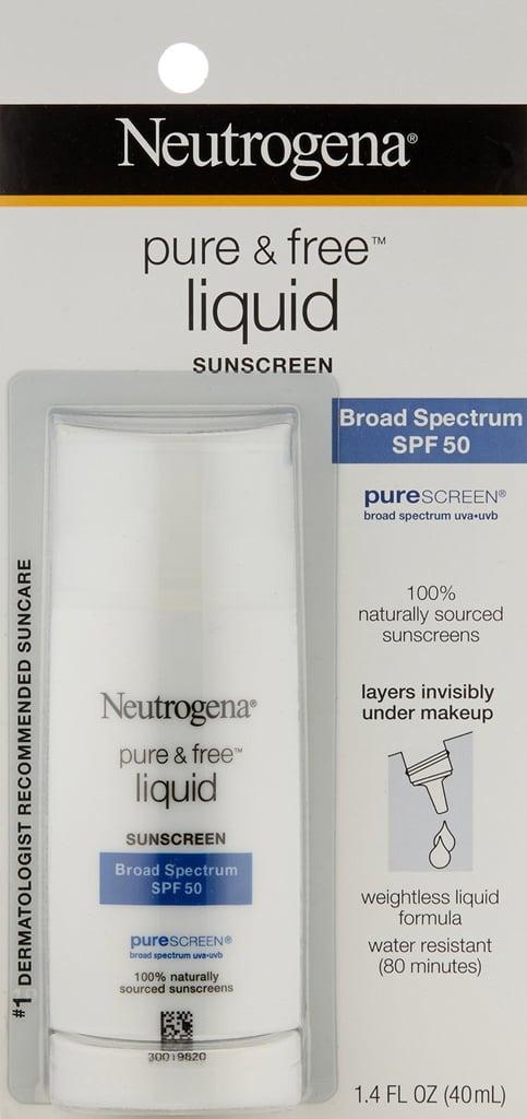 Neutrogena Ultra Sheer Liquid Daily Sunscreen Broad Spectrum SPF 70 ($11)