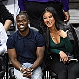 Beyonce, Jay Z, and Kevin Hart at Clippers Game March 2016
