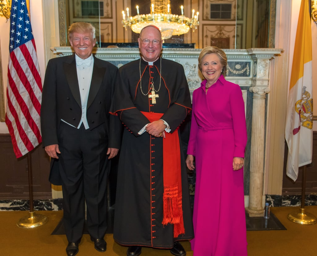 There's Obviously a Great Reason Behind Hillary Clinton's Pink Ralph Lauren Gown